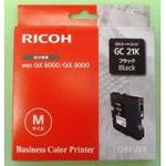 RICOH BLACK PRINT CARTRIDGE GC 21K FOR GX3000/ 3050N/ 5050N 1500 YIELD