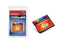 TRANSCEND 4GB Compact Flash Card (133X) MLC (Alt. TS4GCF133) (TS4GCF133)