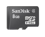 microSDHC 8GB Card Only