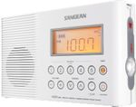 SANGEAN H-201 AM FM Port. Waterproof R