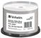 VERBATIM Wide Silver inkprint 50-pack