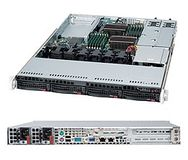SUPERMICRO SuperServer 6016T-URF,  kompletteras med CPU, RAM, HDD, m.m.