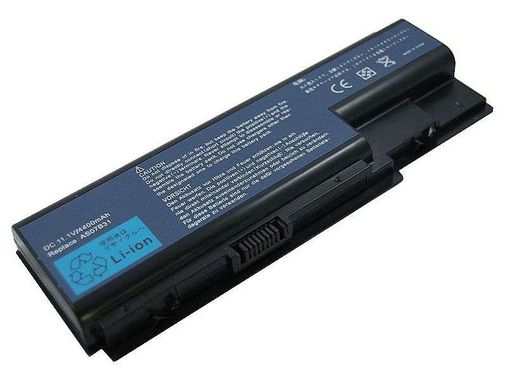 Lithium batteri  (6 cell) AS5520, 5710, 5720, 5910, 5920, 7520, 7720