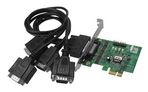 SIIG 4-Port Serial PCIe Card Factory Sealed (JJ-E40011-S3)