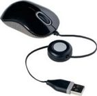 TARGUS Compact Optical Mouse USB - Black/ Grey
