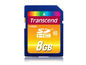 TRANSCEND 8GB SDHC(SD 3.0) High