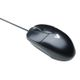 VIDEO SEVEN STANDARD MOUSE USB OPTICAL 3 BUTTON WHEEL USB BLK/SIL IN