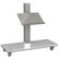 MULTIBRACKETS M Broschure Shelf Floorstand Silver