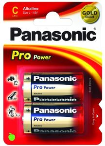 PANASONIC PANALR14B2PRO Gold Pro Power P (LR14PPG/2BP)