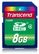 TRANSCEND 8GB Secure Digital- HC (SD 2.0) Class 4 (Alt. TS8GSDHC4)