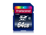 TRANSCEND 64GB SDXC(SD 3.0) exFAT, High Speed (Alt. TS64GSDXC10) (TS64GSDXC10)