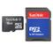 SANDISK 16GB microSDHC incl SD Adapter