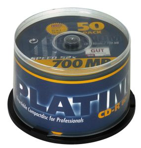 BESTMEDIA Med CD 700MB 80min Platinum 50Spindel (100128)