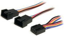 STARTECH 12IN 4 PIN PWM FAN EXTENSION POWER Y CABLE   F/M UK