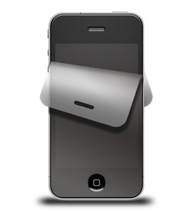 WENTRONIC Displayfoil for Iphone 4/4S 1 set for/ bakside (62054)