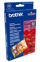 BROTHER GLOSSY PHOTO PAPER 10X15 50 PCS (BP61GLP50)