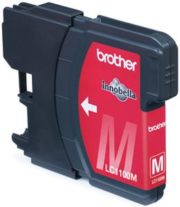 BROTHER Ink Magenta 7,5 ml (LC-1100MBP)