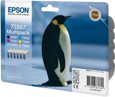 EPSON Ink Cart/ Multipack f RX700 (C13T55974020)