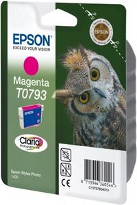 EPSON Ink Cart/ magenta claria STYLUS PHOTO1400 (C13T07934020)