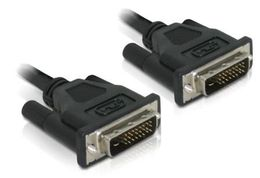 DELOCK DVI 24+1 Cable 0.5m