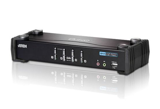 4 Port DVI-D KVMP with USB 2.0