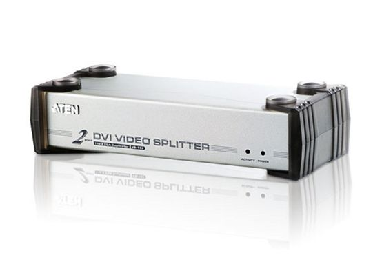 2 Port DVI Video Splitter