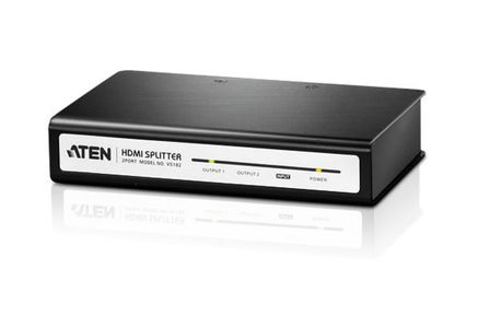 1MAG Aten  Splitter 1:2  HDMI 1.3  HDCP (AT-VS182)