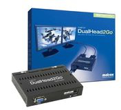 MATROX CB DUAL HEAD 2 GO ROHS COMPLIANT USB POWERED