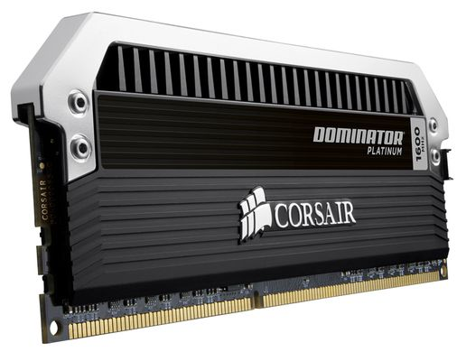 Dominator Quad DDR3 16GB Kit, 1600MHz, 2x240