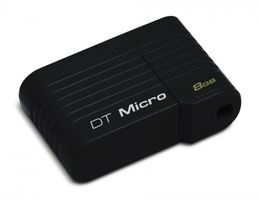 USB STICK 8GB 2.0 HI-SPEED DATATRAVELER MICRO BLACK IN