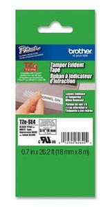 BROTHER Tape/18mm black on white f P-Touch TZE (TZESE4)