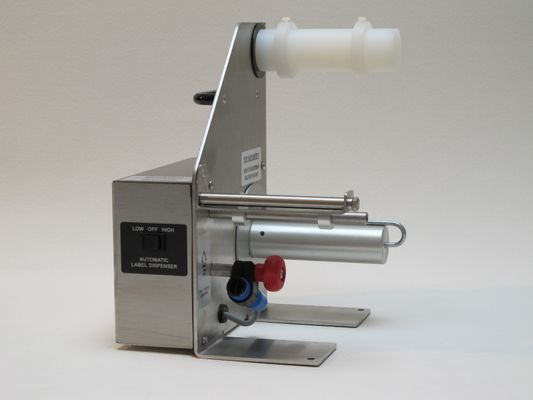 POWERED LABEL DISPENSER STAINLESS STEEL IN