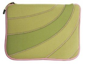 "Airway Neopren Sleeve 12-13"" Green / Pink (HxWxD): 32,5 x 27 x 3 cm"