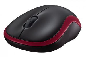 LOGITECH Mouse M185 Red