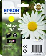 Epson Ink Cart/18 Ser Daisy Yellow RS RF+AM (C13T18044020)