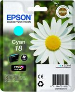 EPSON Ink Cart/18 Ser Daisy Cyan RS RF+AM (C13T18024020)