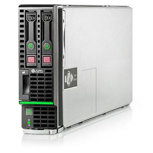 Hewlett Packard Enterprise ProLiant BL420c Gen8 E5-2430 1P 12GB-R B320i SFF Server (668357-B21)