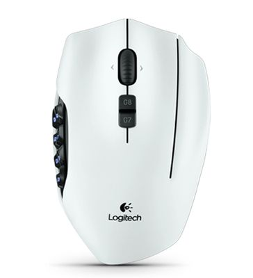G600 MMO Gaming Mouse White