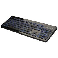Tastatur illuminated LED Colour blue&oran