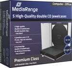 MediaRange CD box  5pcs Double (BOX31-2)