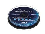 MediaRange 50GB 10pcs BD-R cake 6x (MR507)