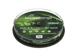 MediaRange DVD+R 4,7GB 10pcs Spindel 16x 10pcs (MR453)