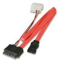 "LINDY Int.Slim SATA Kabel+5, 25"",  1m 1xSlim SATA an (33609)"