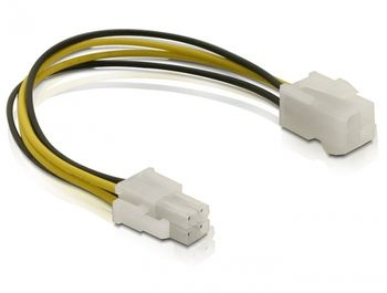 DELOCK - Power extension cable - 4 pin ATX12V (M)  (82428)