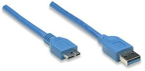 MANHATTAN 1m USB 3.0 Cable (325417)