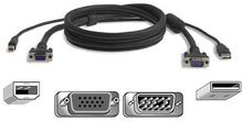 BELKIN KVM CABLE USB 3M PRO SERIES PLUS F/  OMNIVIEW NS (F3X1962B10)