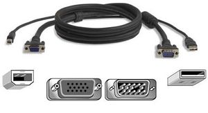 KVM CABLE USB 3M PRO SERIES PLUS F/  OMNIVIEW NS