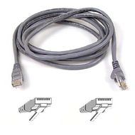 BELKIN SNAGLESS CAT6 PATCH CABLE 4PAIRRJ45M/ M 2M NS (A3L980B02M-S)