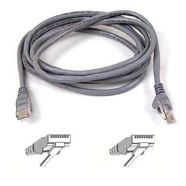 SNAGLESS CAT6 PATCH CABLE 4PAIRRJ45M/ M 15M NS