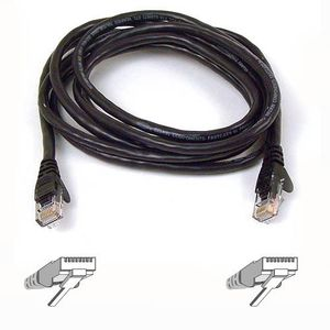 BELKIN CAT6 2M BLACK  NS (A3L980B02MBK-HS)